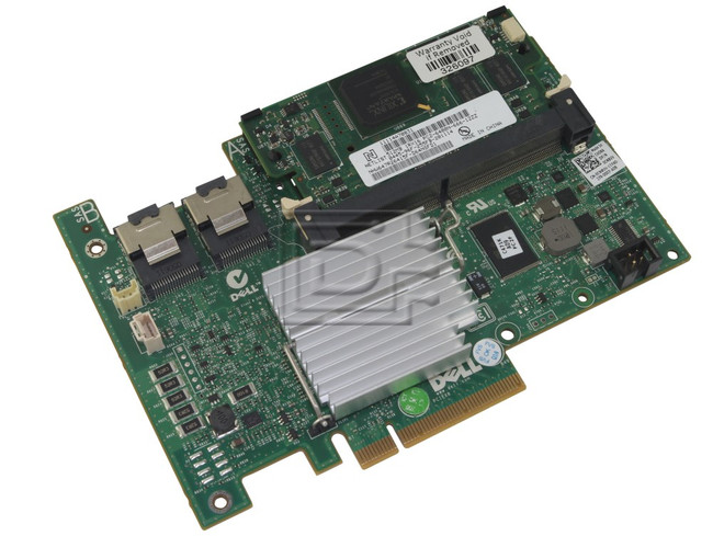 Dell 342-1198 R374M 0R374M XXFVX 0XXFVX CNXVV 0CNXVV KK67X 0KK67X SAS / Serial Attached SCSI RAID Controller Card image 2