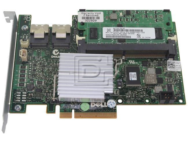 Dell 342-1609 W56W0 N0G12 0W56W0 0N0G12 450-14709 SAS / Serial Attached SCSI RAID Controller Card image 1