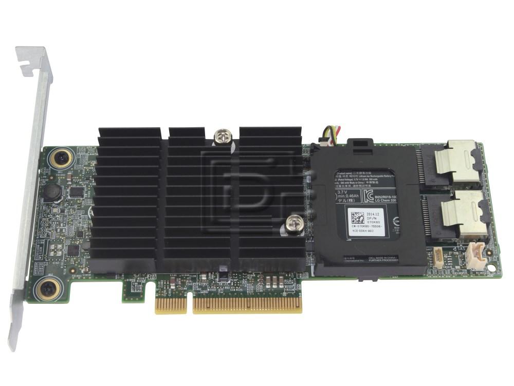 Dell 342-4203 VM02C 0VM02C 8PX3M 08PX3M 0GJKT 00GJKT SAS / Serial Attached SCSI RAID Controller Card H710 image 1