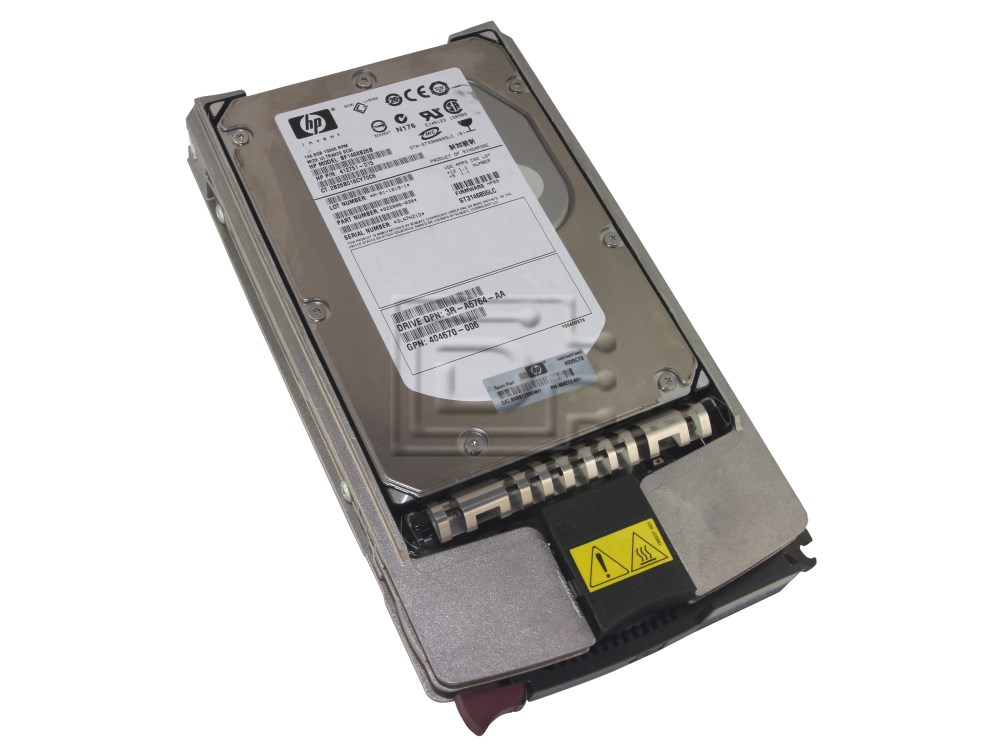 HEWLETT PACKARD 347708-B22 347779-001 SCSI Hard Drives image 1