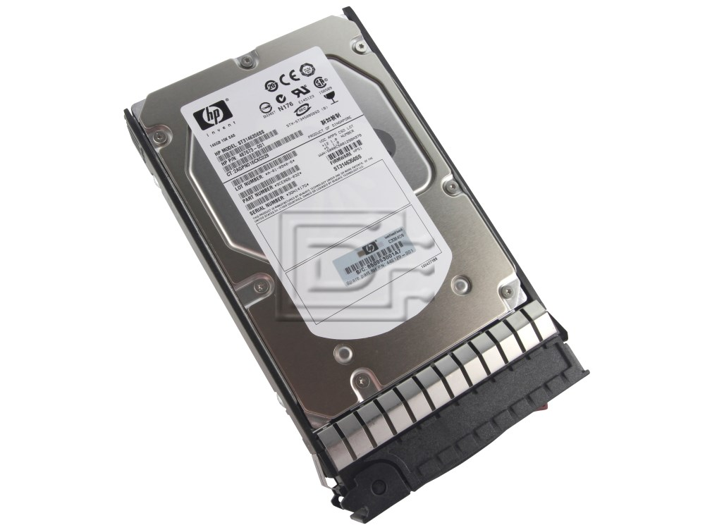 HEWLETT PACKARD 375872-B21 375874-003 0B22208 HUS153014VLS300 462587-002 DF146BABUE 0B23755 454228-001 SAS Hard Drives image 1