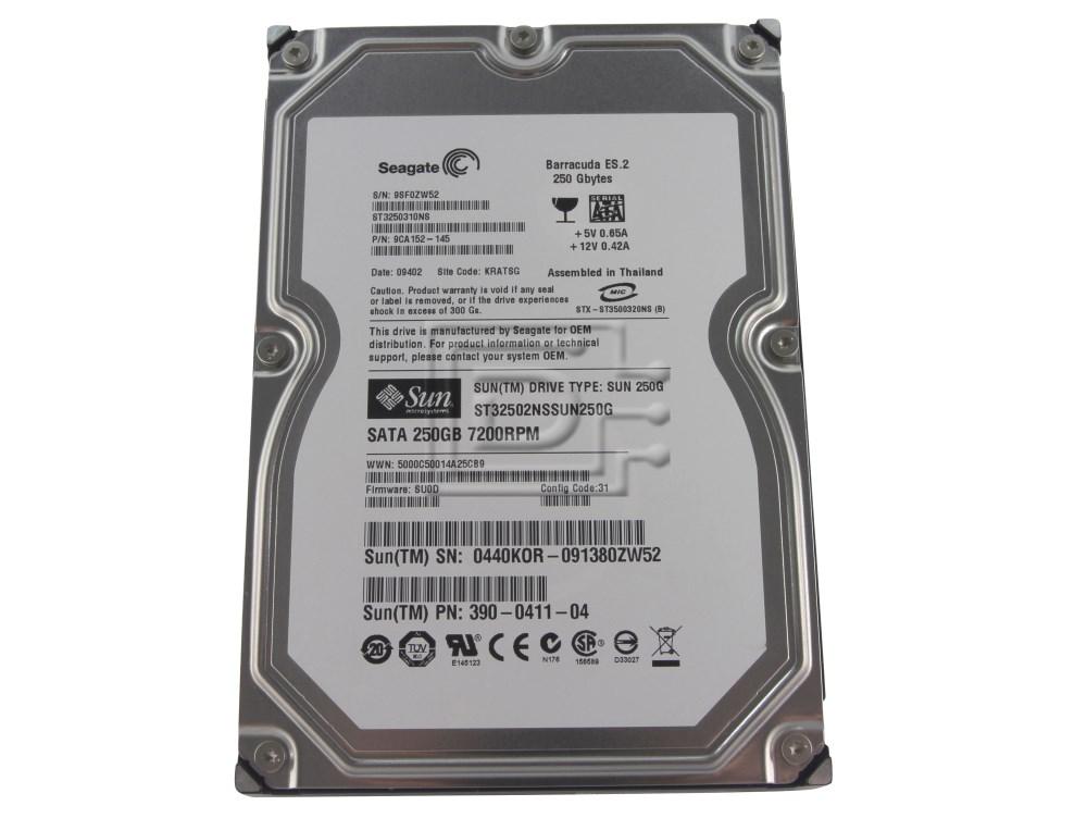 SUN MICROSYSTEMS 390-0164 SATA Hard Drive image 1