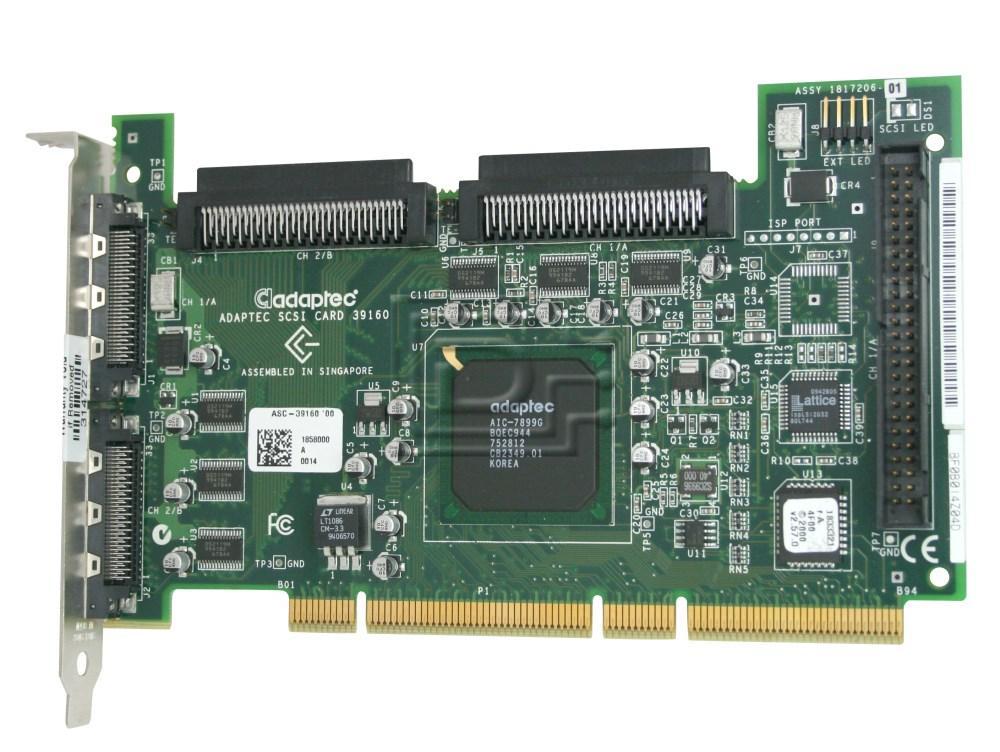 ADAPTEC 39160 W2414 SCSI Controller image 1