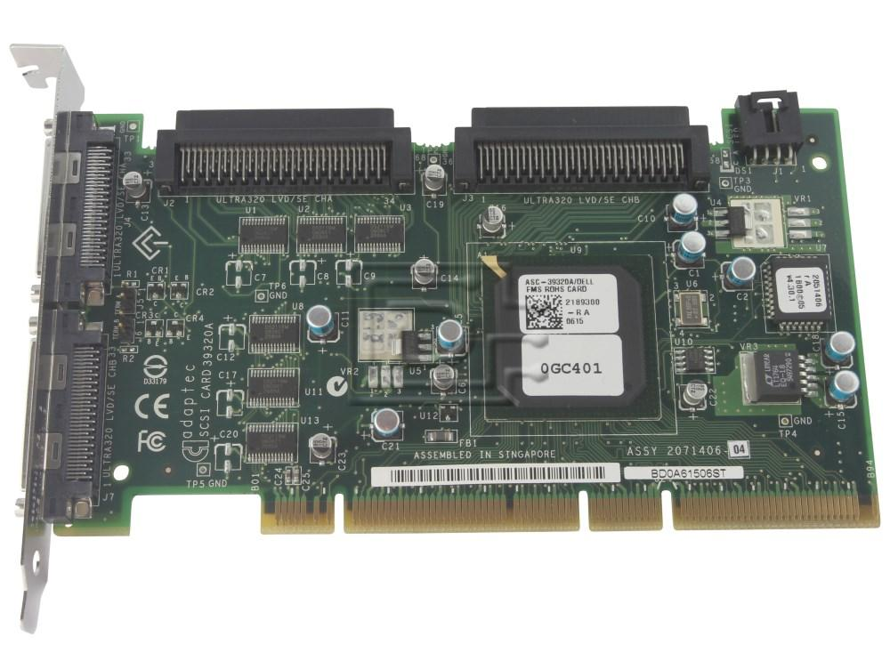 NEW DRIVERS: ADAPTEC ASC-39320A DELL