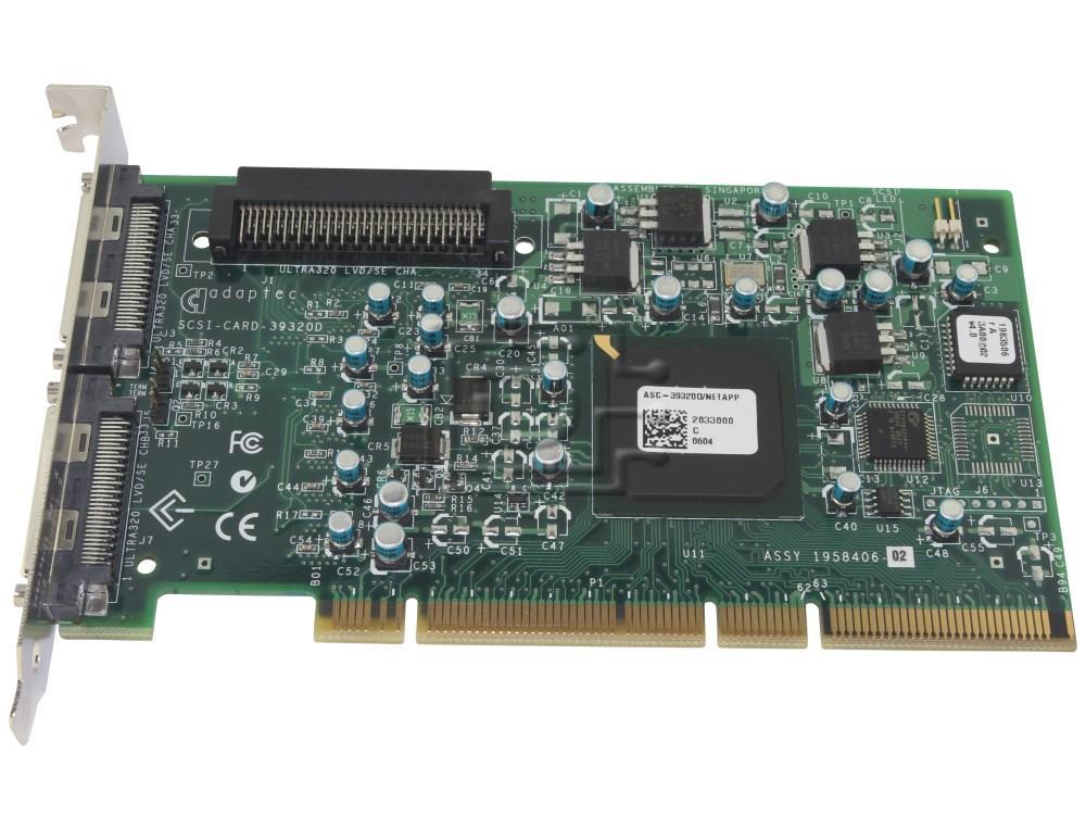 ADAPTEC ASC-39320D 39320 SCSI Controller image 1