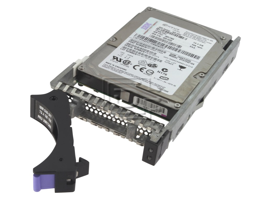 IBM 40K1023 90P1305 SCSI Hard Drive image 3