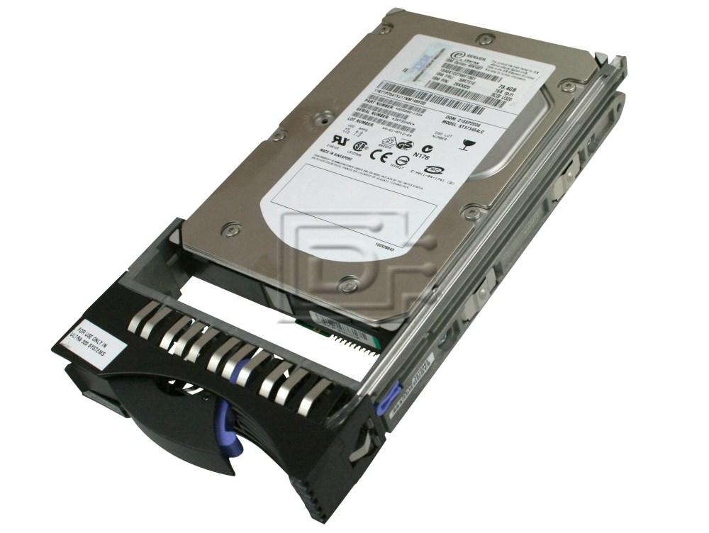 IBM Compatible 40K1027 39R7316 IBM SCSI Hard Drive image 1