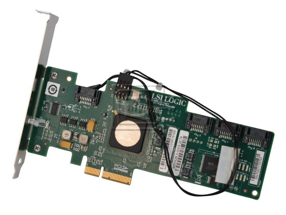 HEWLETT PACKARD 431103-001 SAS3041E SATA SAS / Serial Attached SCSI RAID Controller Card image
