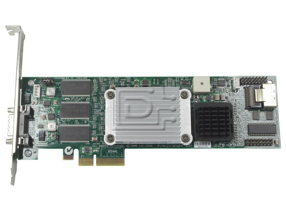 HEWLETT PACKARD 435216-001 EX830AA SAS / Serial Attached SCSI RAID Controller Card image 1