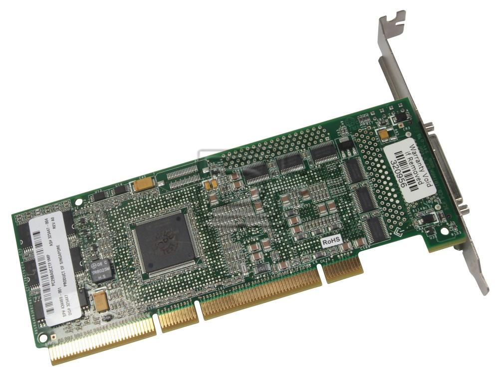 HEWLETT PACKARD 436811-001 ASR2120S FW8208 434469-001 SCSI RAID Controller image 1