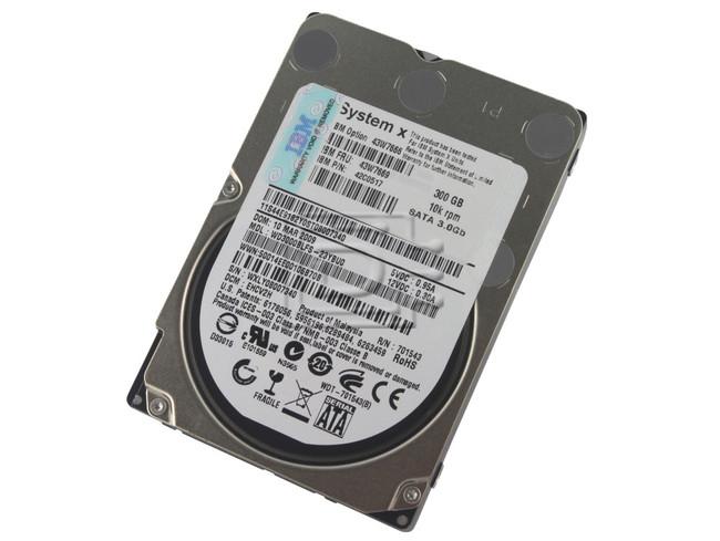 "IBM 43W7666 43W7669 SFF SATA 2.5"" Hard Drive image 1"
