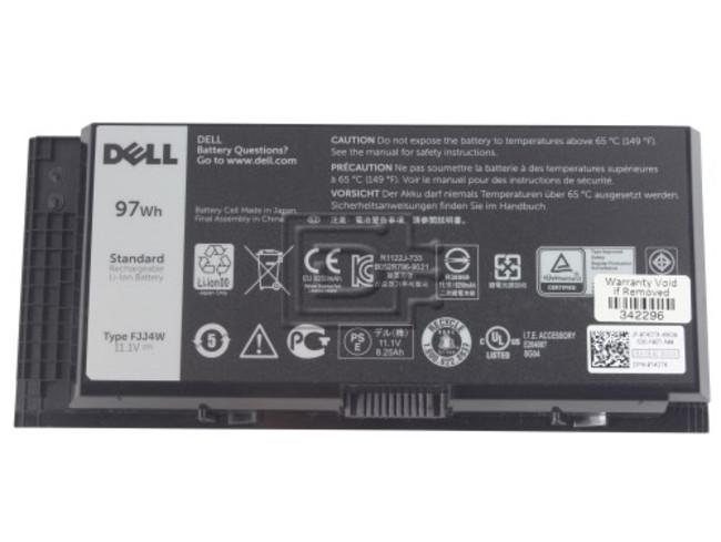 Dell 451-BBDJ FJJ4W PG6RC 4HJXX FV993 0FJJ4W 0PG6RC 04HJXX 0FV993 0T4DTX T4DTX 7DWMT 07DWMT 9-cell Lithium Battery image 1