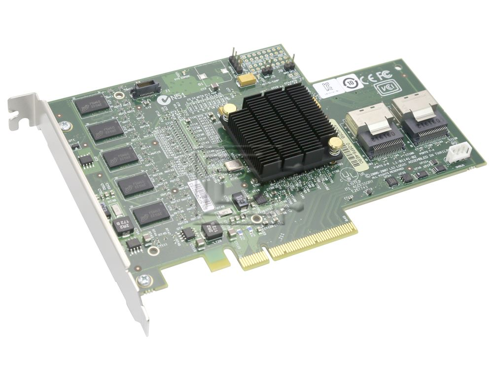 IBM 46C9037 43W4297 L3-01141-04A MR-SAS-8708E ServeRAID Controller image 1