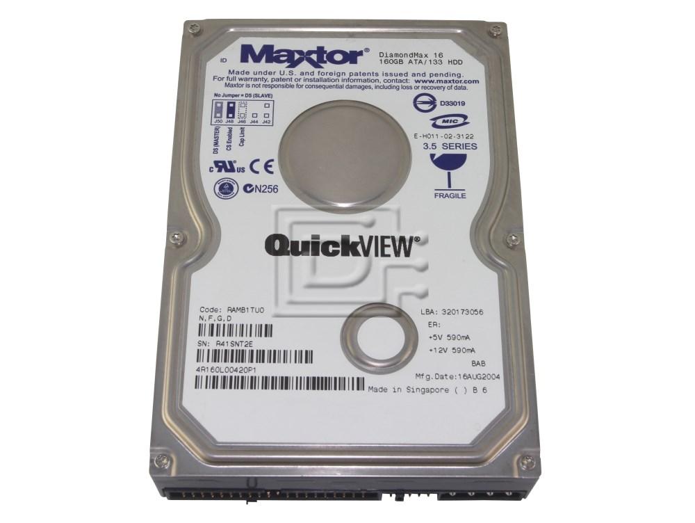 Maxtor 4R160L0 IDE ATA/100 Hard Drive image 1