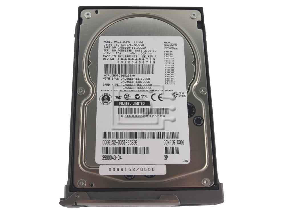 SUN MICROSYSTEMS 540-4921 390-0043 SCSI hard drive image 1