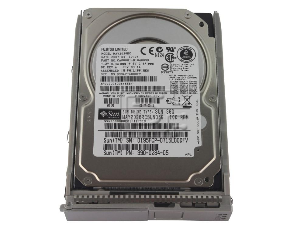 SUN MICROSYSTEMS 540-6610 390-0284 MAY2036RC 390-0284-05 SAS hard drive image 1