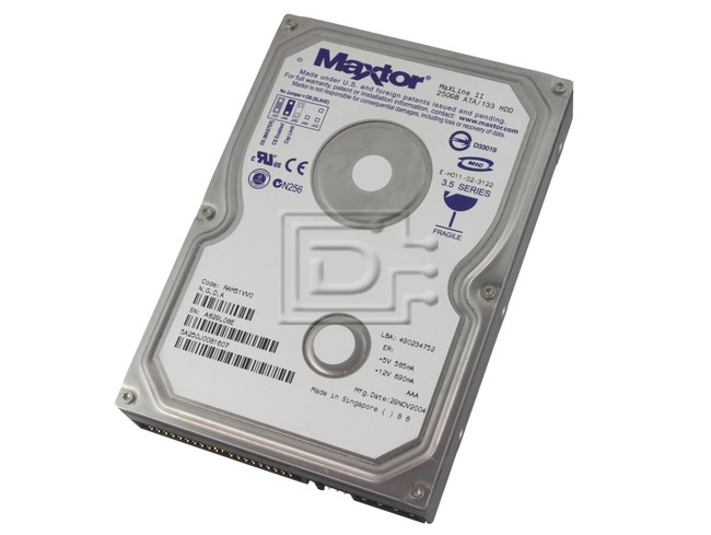 Maxtor 5A250J0 ATA Parrallel ATA Hard Drive image 1