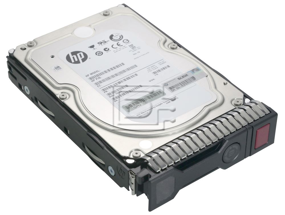 HEWLETT PACKARD 652757-B21 MB2000FCWDF 695507-002 9ZM275-035 714355-001 653948-001 HP SAS Gen8 Hard Drives Kit image 1