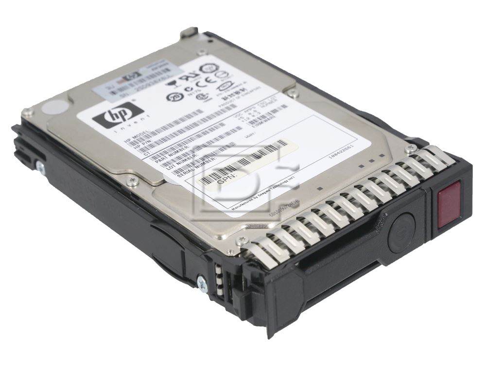 "HP 300GB 10K RPM 2.5/"" 492620-B21 504015-003 SAS HDD Hard Drive"