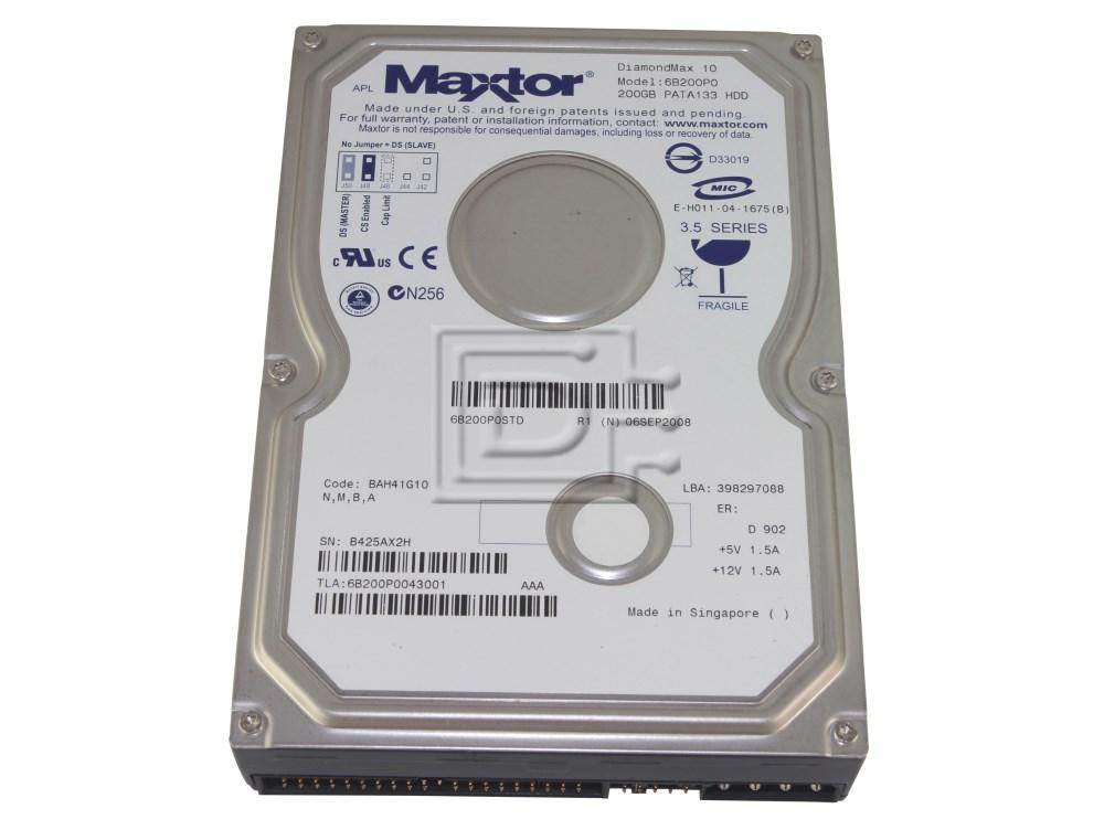 Maxtor DiamondMax 10 6L160P0 160GB 7.2K 2MB ATA-IDE Hard Disk Drive