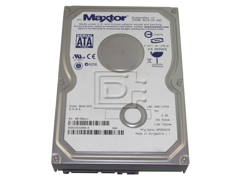 Maxtor 6B300S0 SATA Hard Drive image 1