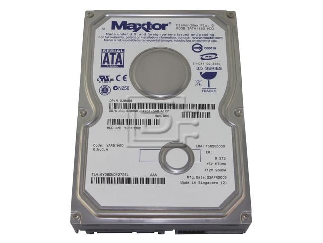 Maxtor 6Y080M0 SATA hard drives image 1