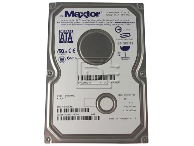 Maxtor 6Y120M0 0T0732 T0732 SATA Hard Disks image 1