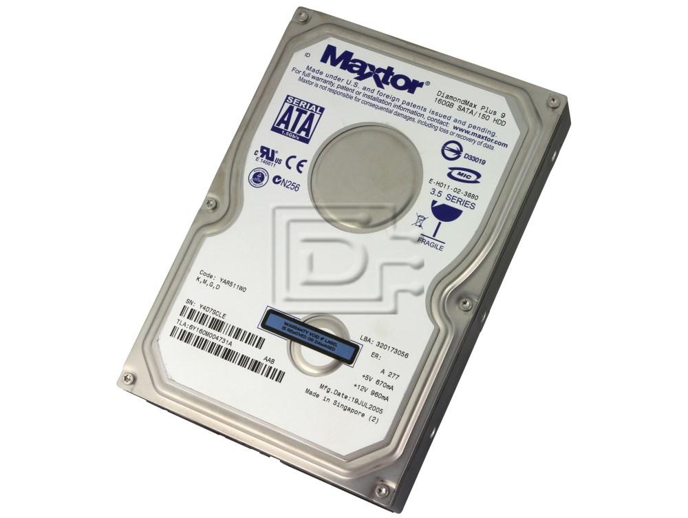 Maxtor 6Y160M0 SATA Hard Drive image 2
