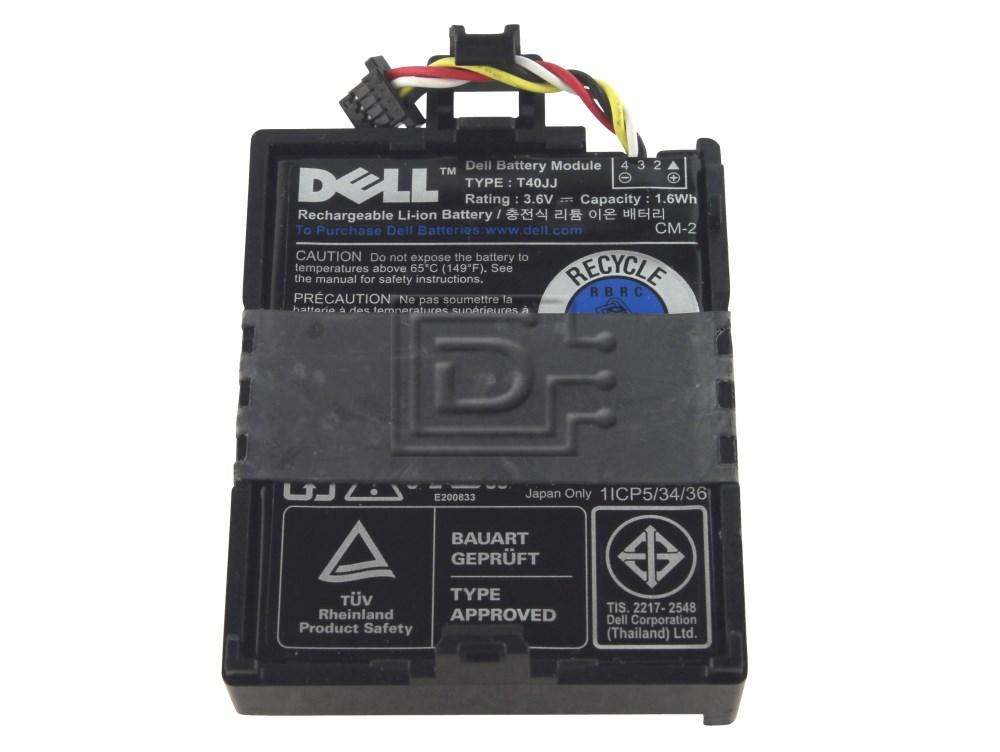 Dell 70K80 070K80 T40JJ 0T40JJ 7VJMH 07VJMH PERC H710 H710P H810 Battery image 1