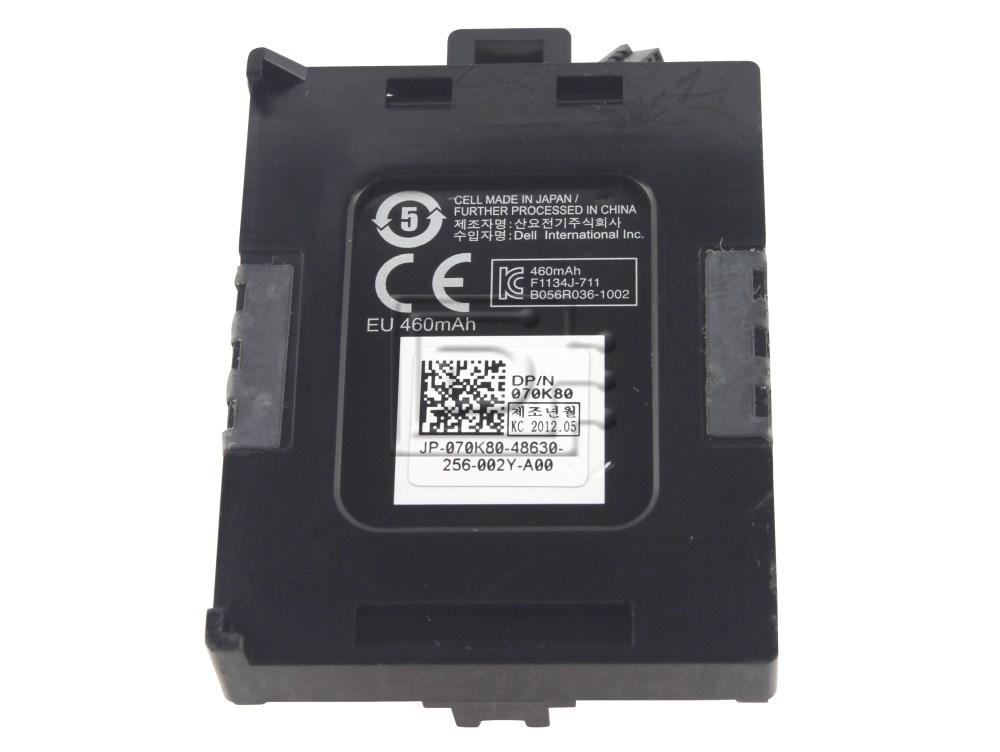 Dell 70K80 070K80 T40JJ 0T40JJ 7VJMH 07VJMH PERC H710 H710P H810 Battery image 2