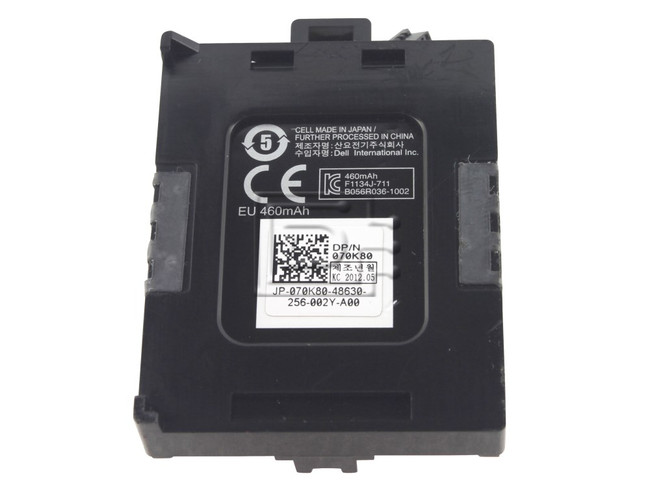 Dell 70K80 Battery for PERC H710 / H810 RAID Controllers