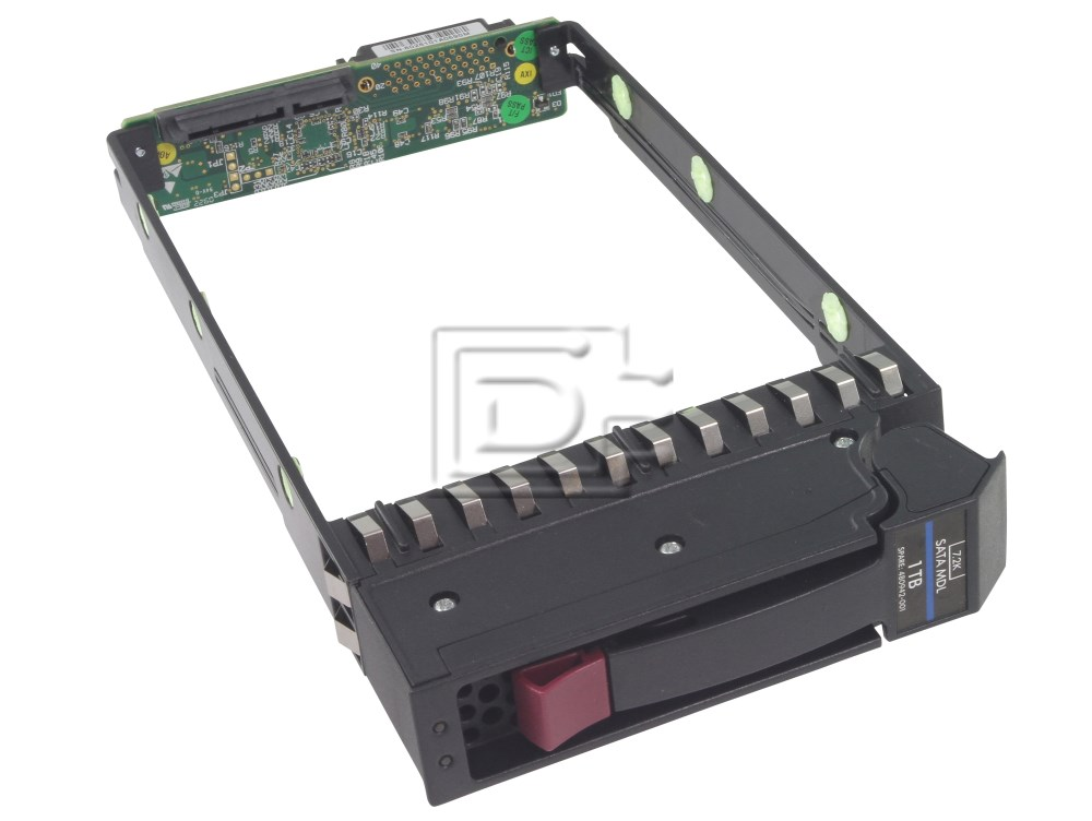 HEWLETT PACKARD 79-00000523 60-261-01 60-220-03 HP SATA Disk Tray Caddy Interposer image 1