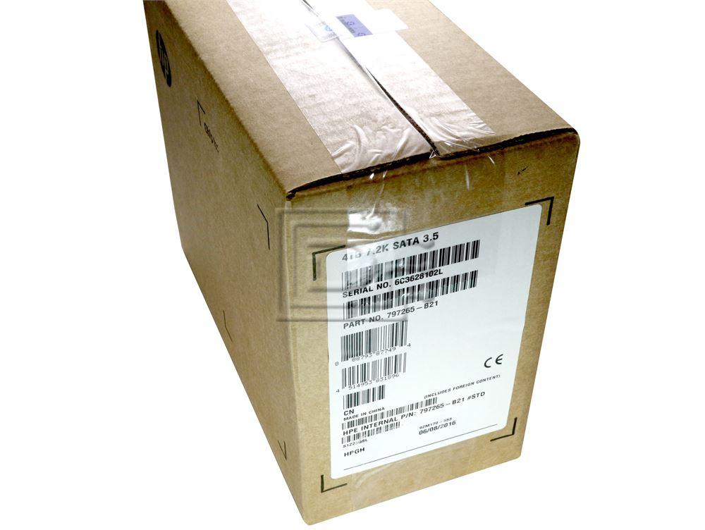HEWLETT PACKARD 797265-B21 695503-004 657753-008 MB4000GCWDC 695503-008 797519-001 SATA Hard Drive image 1