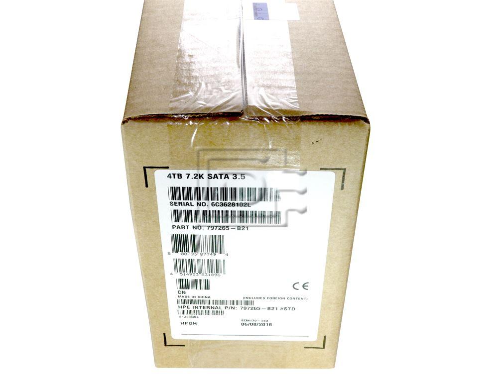 HEWLETT PACKARD 797265-B21 695503-004 657753-008 MB4000GCWDC 695503-008 797519-001 SATA Hard Drive image 2