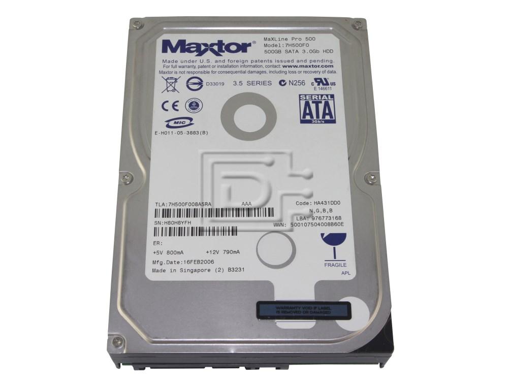 Maxtor 7H500F0 SATA Hard Drive image 1