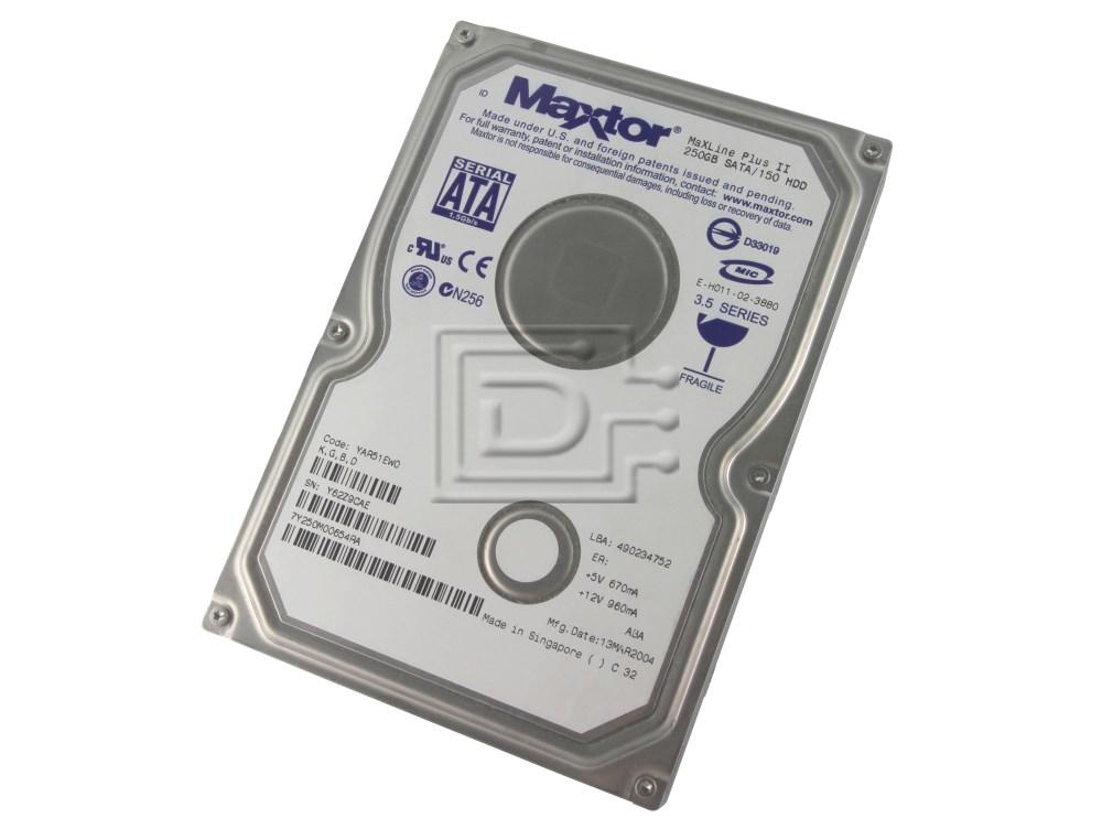 Maxtor 7Y250M0 SATA Hard Disks image 1