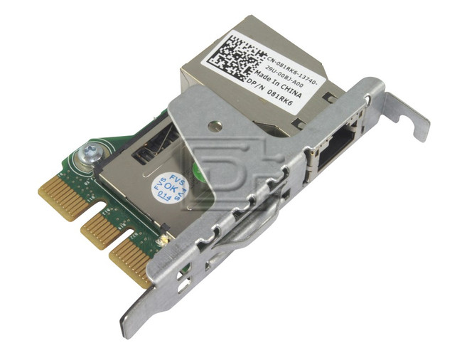 Dell 81RK6 / WD6D2 iDRAC 7 Port Card Integrated Dell Remote Access  Controller