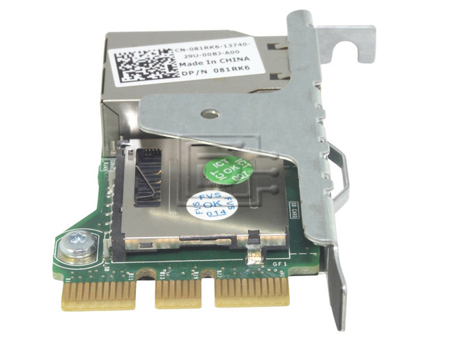 Dell 81RK6 / WD6D2 iDRAC 7 Port Card Integrated Dell Remote Access  Controller