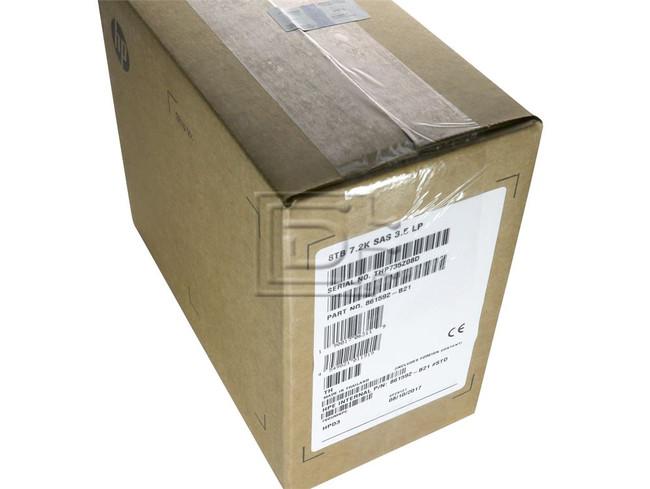 HEWLETT PACKARD 861592-B21 861608-001 857642-001 857652-006 MB008000JWAYH SAS Helium Hard Drive image 1