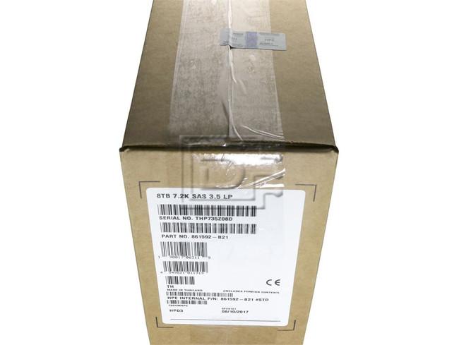 HEWLETT PACKARD 861592-B21 861608-001 857642-001 857652-006 MB008000JWAYH SAS Helium Hard Drive image 2