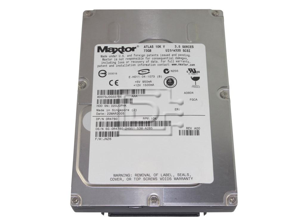 Maxtor 8D073J0 SCSI Hard Drive image 1