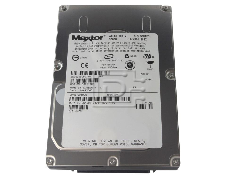 Maxtor 8D300J0 W4006 CC317 SCSI Hard Drive image 1
