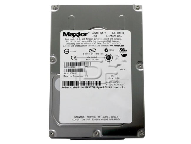 Maxtor 8J073J0 SCSI Hard Disk Drive image 2