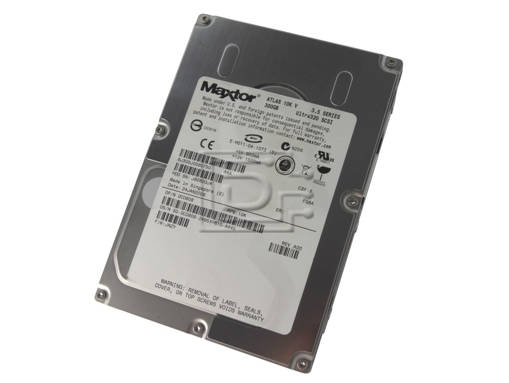 Maxtor 8J300J0 SCSI Hard Drives image 1