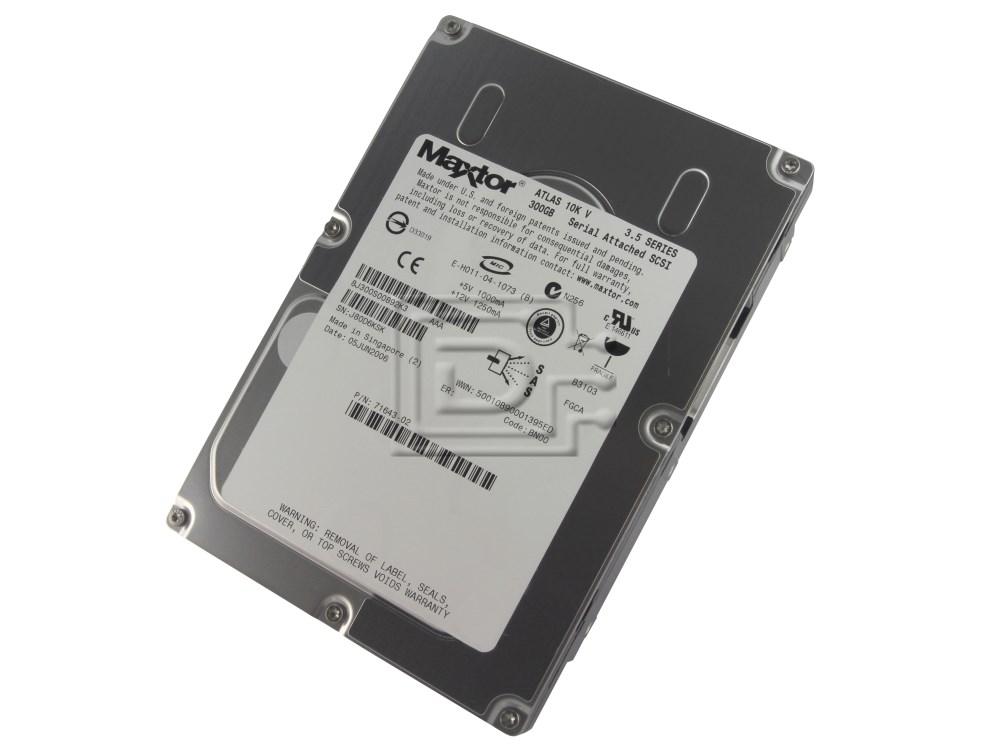 Maxtor 8J300S0 SAS SCSI Hard Drives image 1