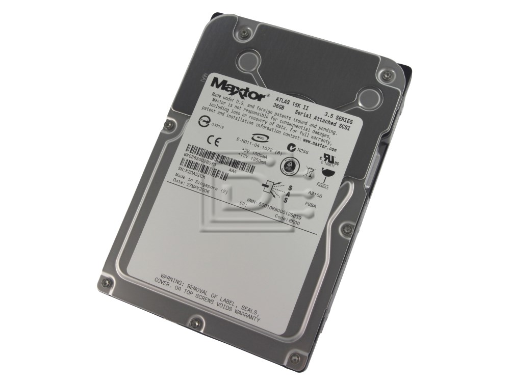 Maxtor 8K036S0 SAS SCSI Hard Drives image 1