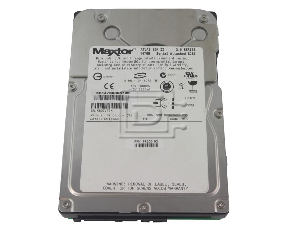 Maxtor 8K147S0 SCSI Hard Drive image 1