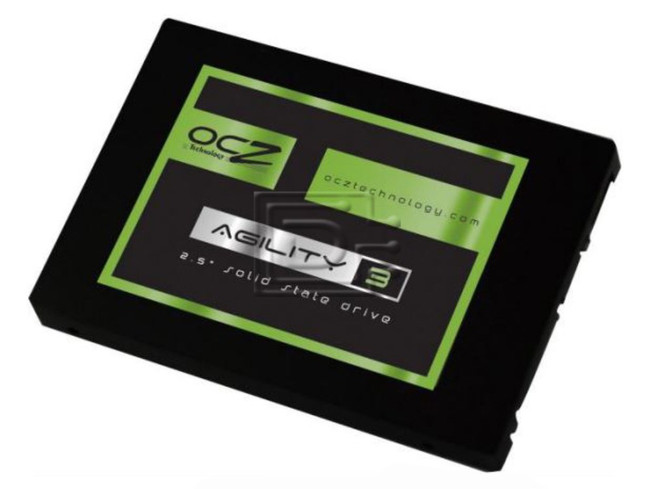 "OCZ Technology AGT3-25SAT3-120G Laptop SATA 2.5"" MLC SSD Drive image"