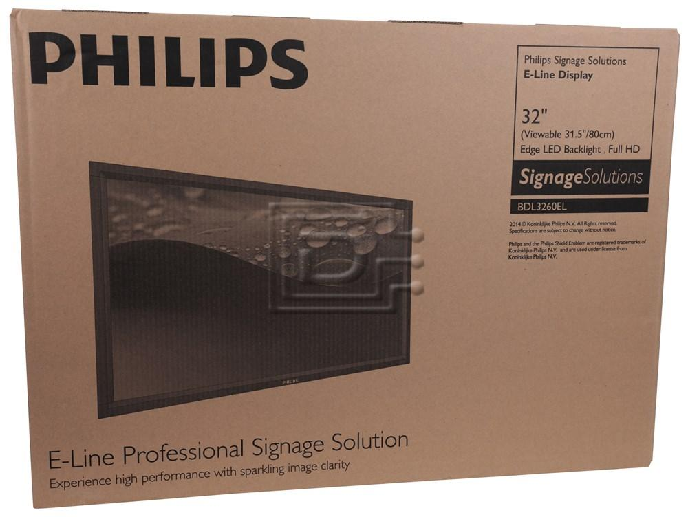 PHILIPS BDL3260EL A8223391 Philips 32-inch LED Display image 1