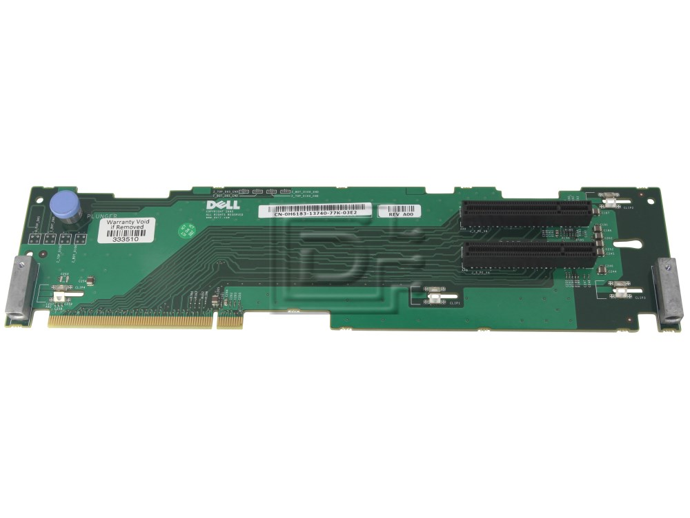 Dell CK316 311-6334 H6183 0H6183 0CK316 PCI Express Riser Card image 1